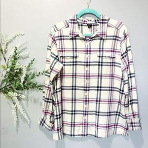 Patagonia   Organic Cotton Flannel Sz 12 EUC